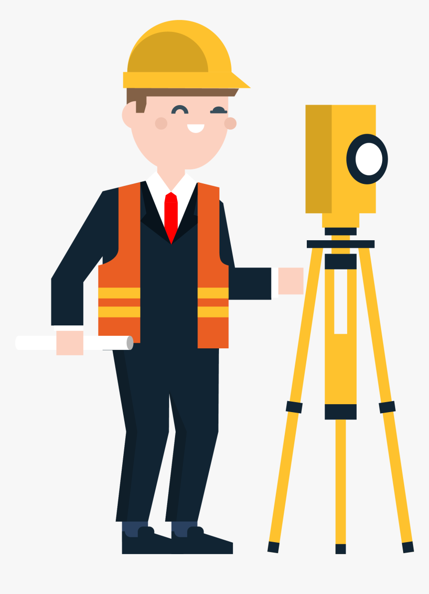 Transparent Construction Worker Silhouette Png - Clipart Civil Engineering Logo, Png Download, Free Download