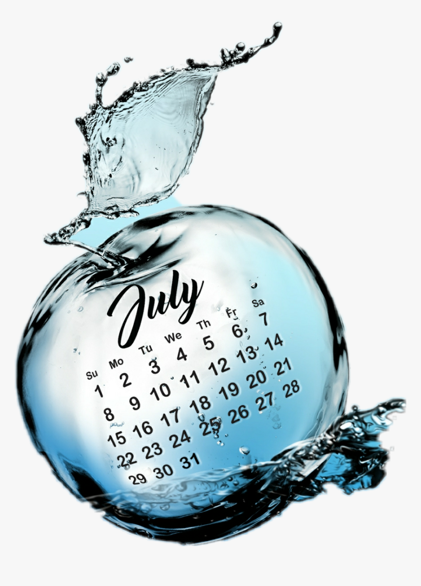 #july #julio #calendar #calendario #2018 - 2011 Calendar, HD Png Download, Free Download