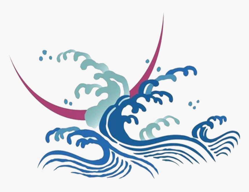Wind Icon On A - Icons With Transparent Background Wave, HD Png Download, Free Download