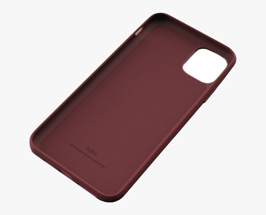 Genuine Leather Back Case For Iphone 11 / 11 Pro / - Iphone 11 Pro Burgundy Case, HD Png Download, Free Download