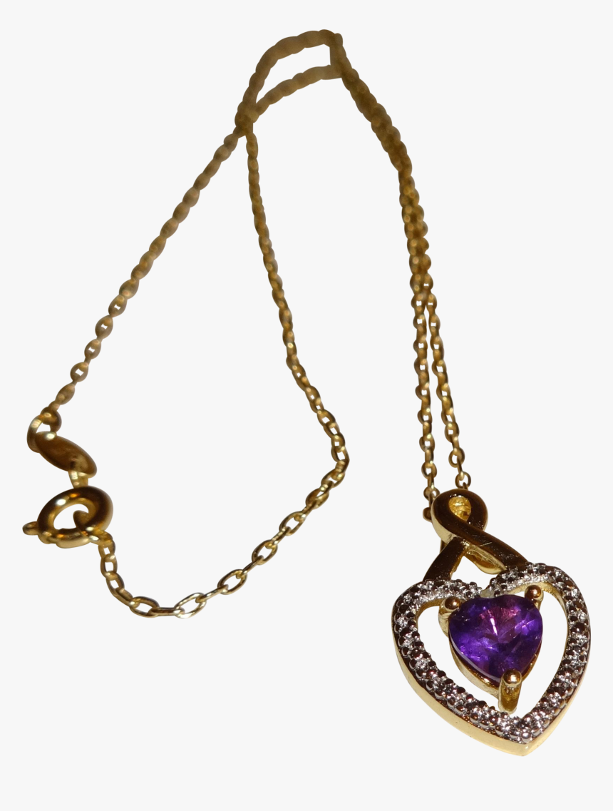 Heart Necklace Png Pic - Necklace, Transparent Png, Free Download