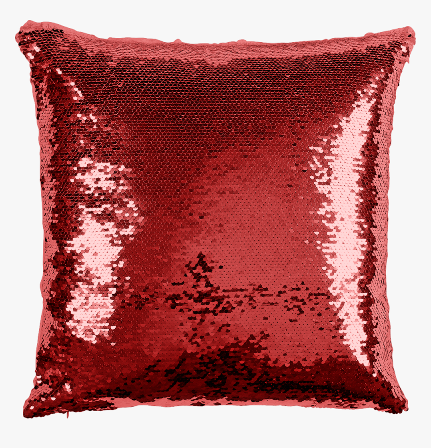 Red Sequin Personalised Cushion, HD Png Download, Free Download