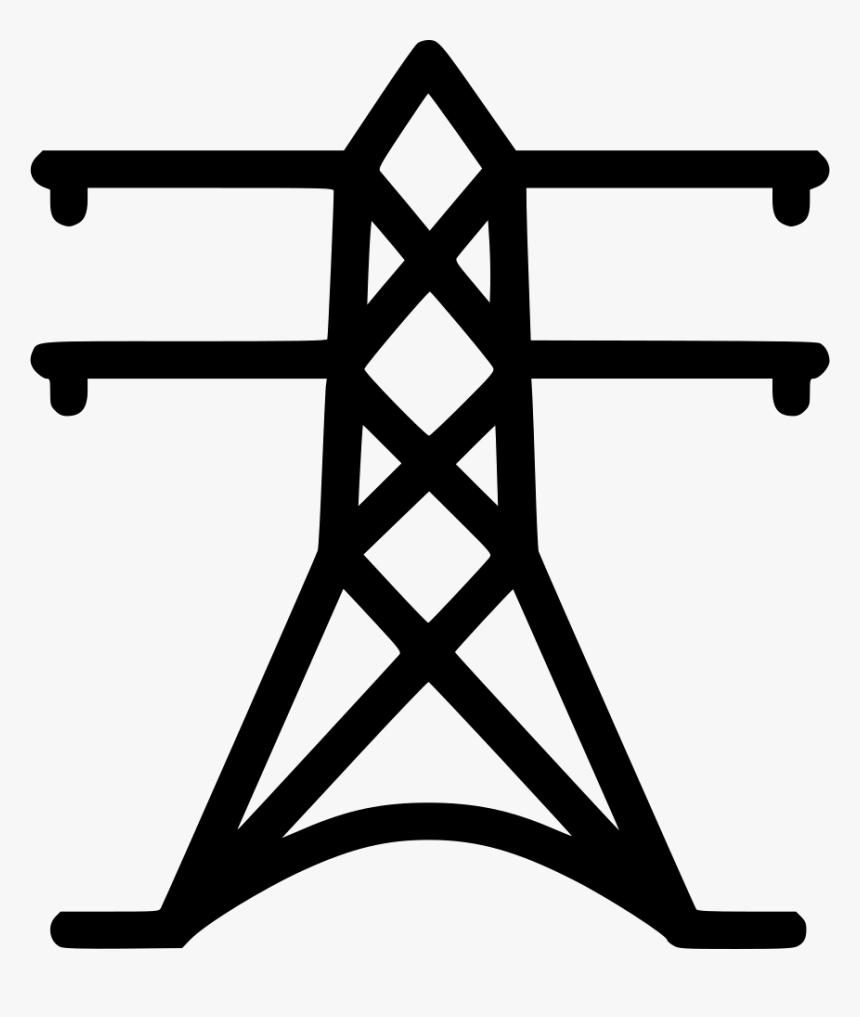 High Landline Svg Png - Power Generation Transmission & Distribution Icon, Transparent Png, Free Download