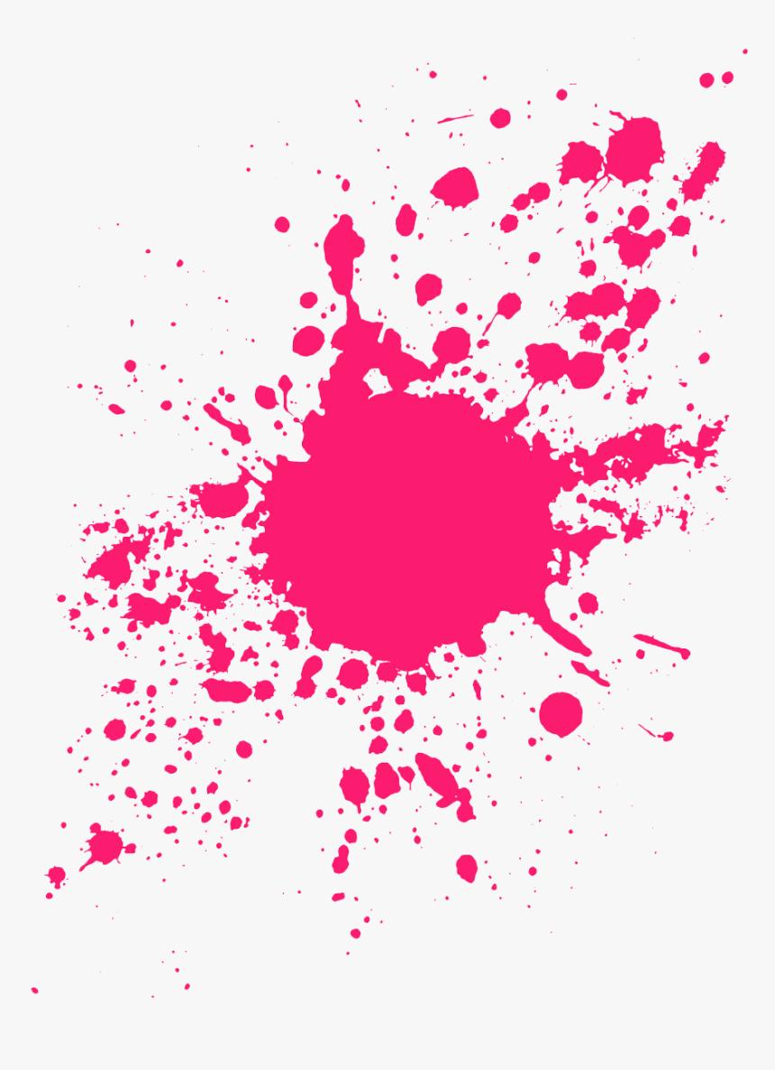 Paint Splater Png - Paint Splatter Transparent Background, Png Download, Free Download