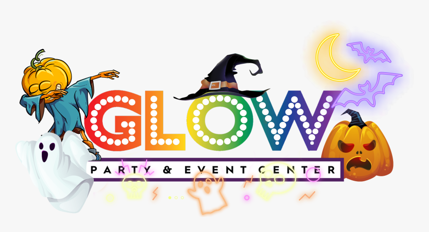 Glow Party & Event Center - Cartoon, HD Png Download, Free Download
