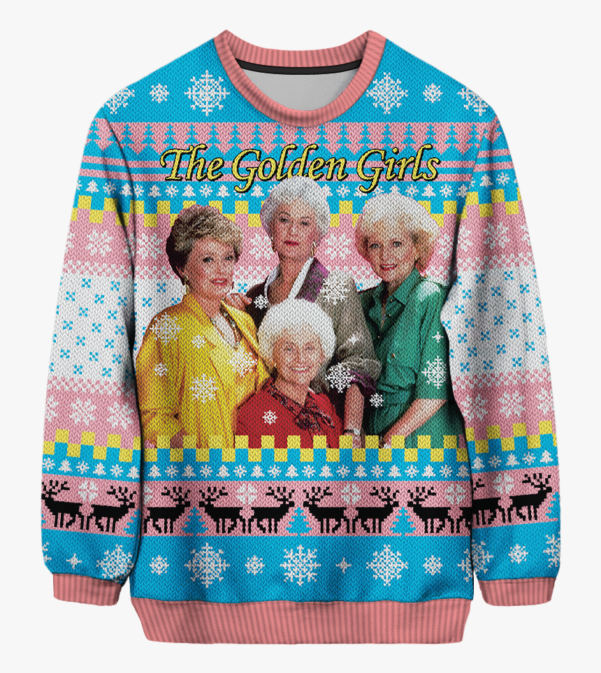 Golden Girls Christmas Sweater, HD Png Download, Free Download