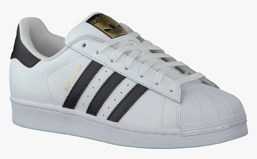 Adidas Superstar White Png, Transparent