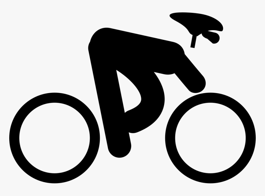 Cyclist - Bicicleta Icono Png, Transparent Png, Free Download