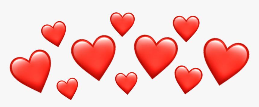 #emoji #emojiiphone #iphone #emojicrown #crown #heartcrown - Red Heart Crown Transparent, HD Png Download, Free Download