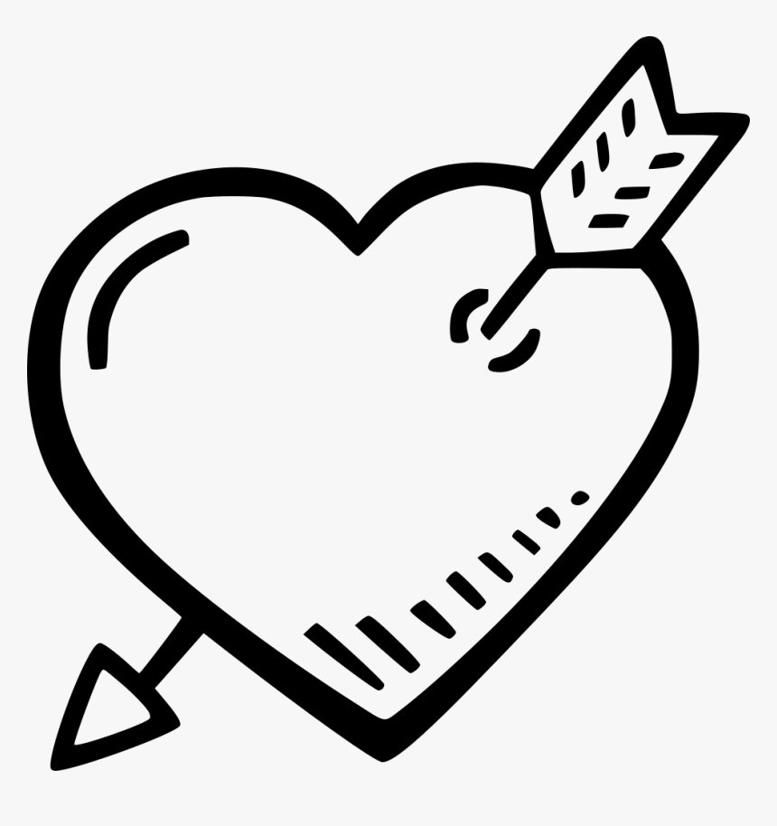 Heart And Arrow - Portable Network Graphics, HD Png Download, Free Download