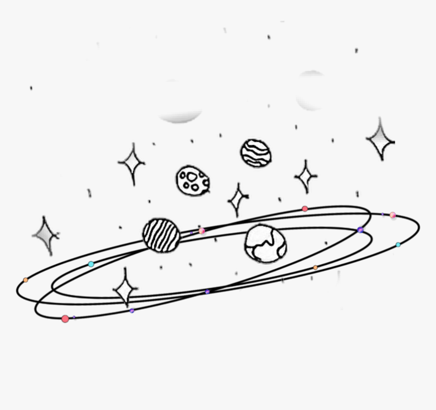 Galaxia Tumblr Planetas Surfboard Hd Png Download Kindpng
