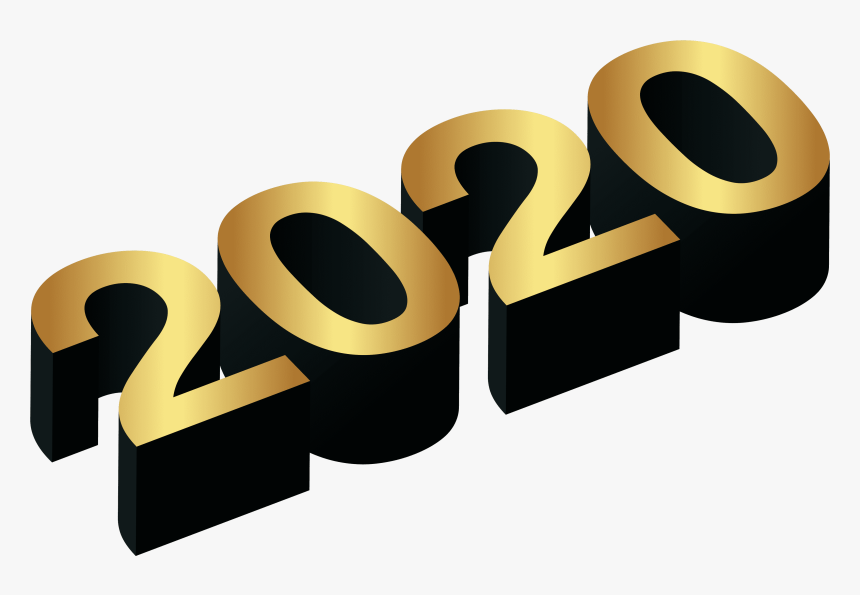 2020 Gold Black Png Clip Art Image Happy New Year Png 2020