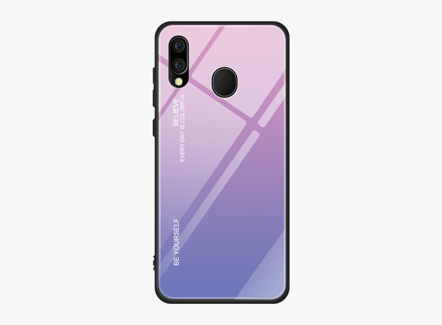 Gradient Shockproof Tempered Glass Case Cover Shell - Чехлы На Самсунг А 20, HD Png Download, Free Download