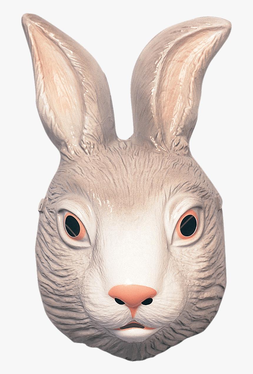 Bunny Head Png - Plastic Rabbit Mask, Transparent Png, Free Download