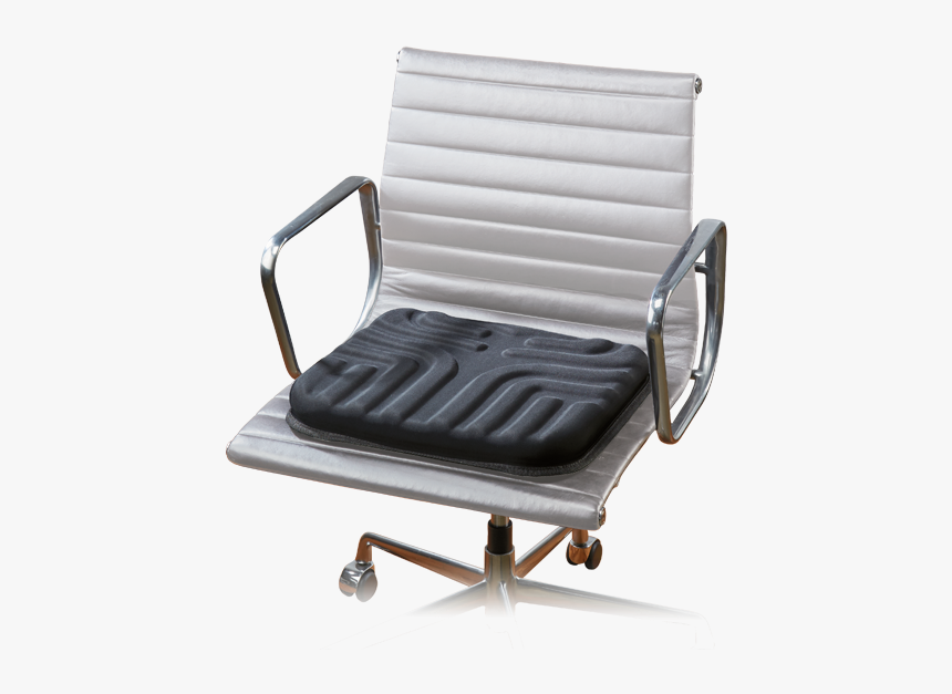 "Sharper Image Seat Cushion""  Title=""sharper Image Seat - Office Chair, HD Png Download, Free Download"
