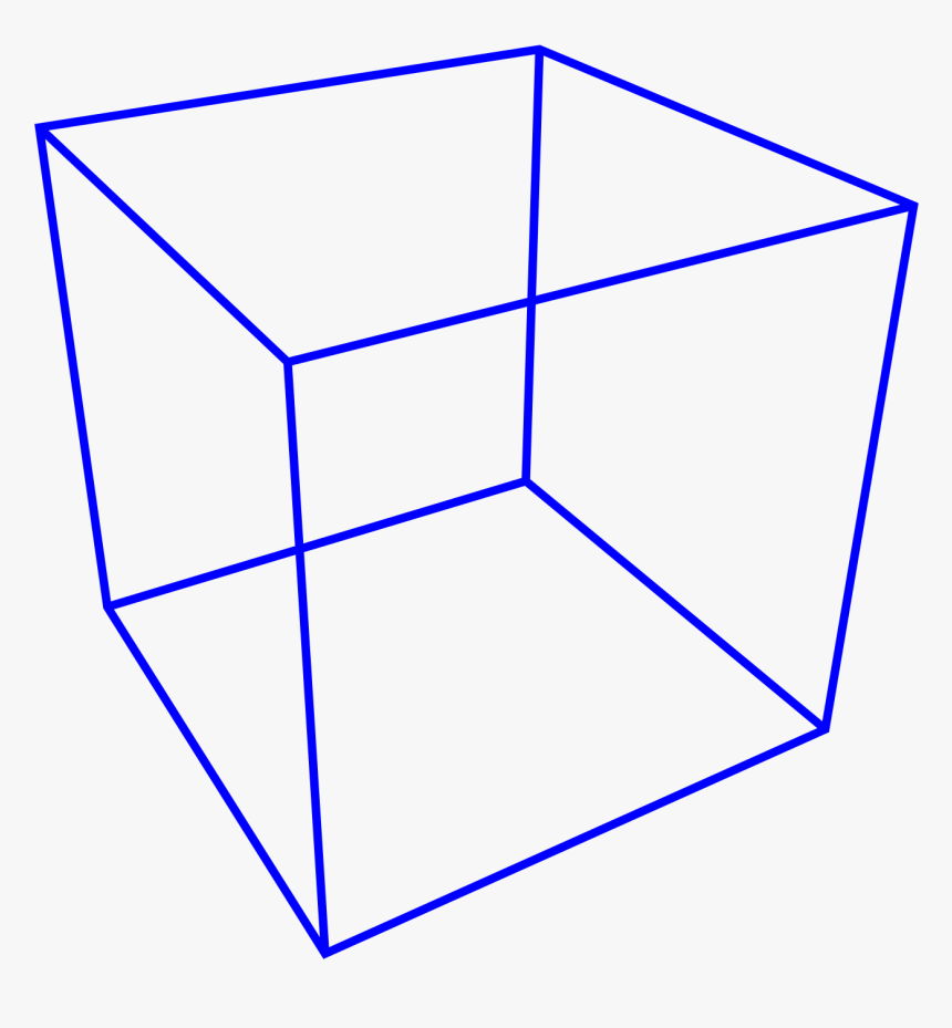 Cube Perspective Png, Transparent Png, Free Download
