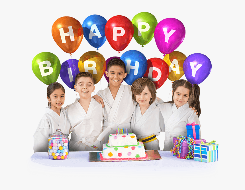 Children Birthday Parties - Happy Birthday Balloon Png Transparent Background, Png Download, Free Download