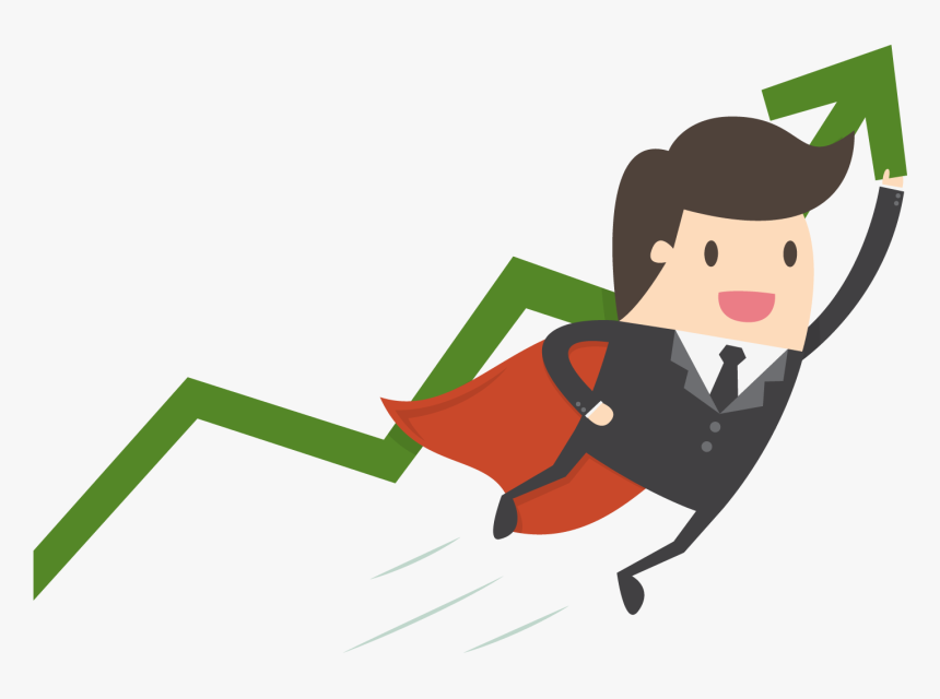 Bank Vector Investor - Investment Cartoon, HD Png Download, Free Download