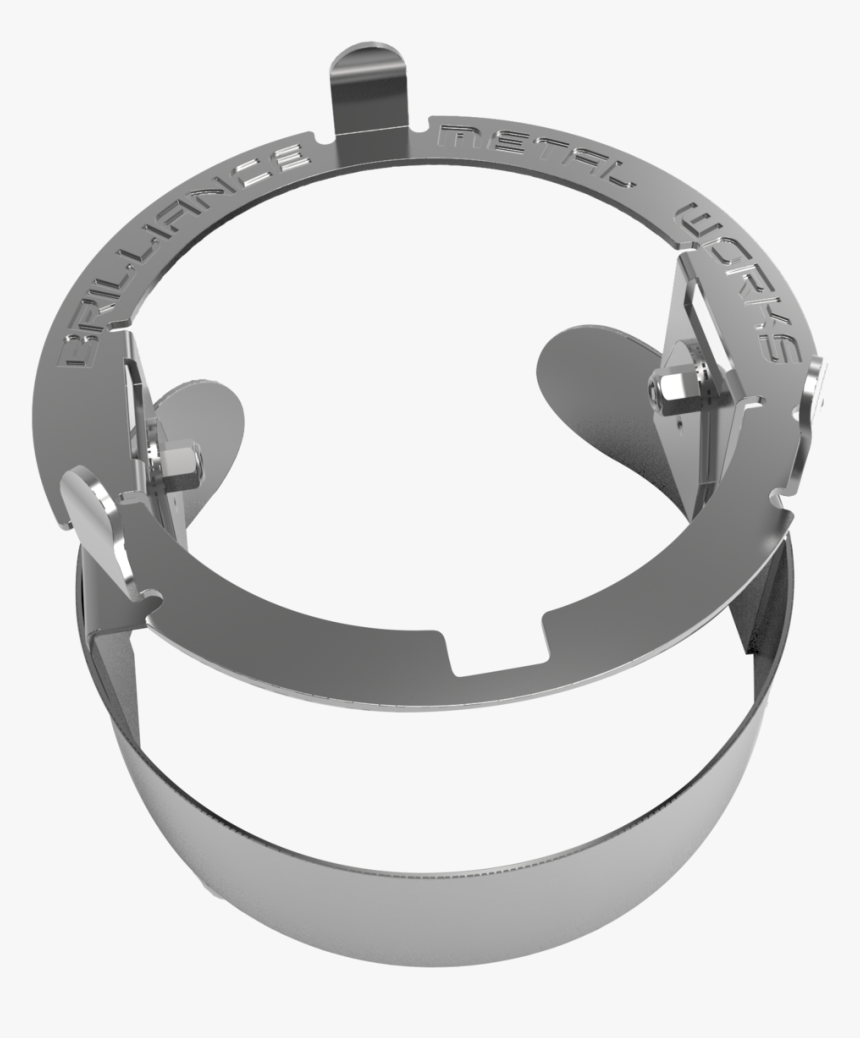 Stainless Steel Bimbal V2 - Circle, HD Png Download, Free Download
