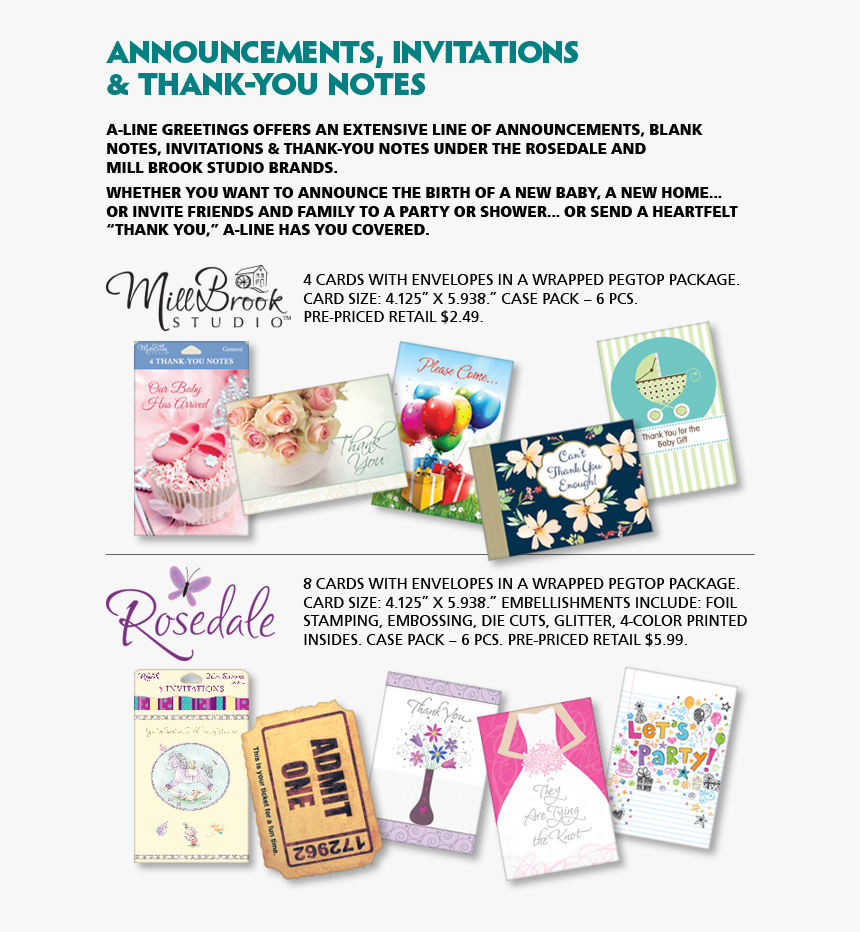 Transparent Blank Greeting Card Png - Paper Product, Png Download, Free Download