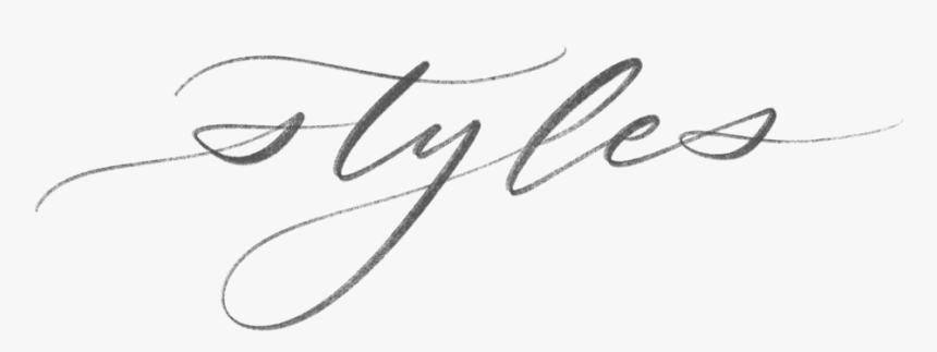 Styles - Calligraphy, HD Png Download, Free Download