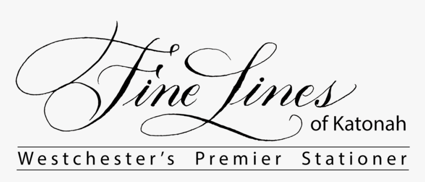 Calligraphy Lines Png, Transparent Png, Free Download