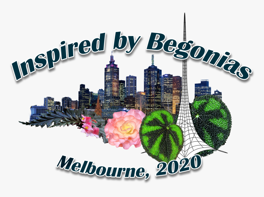 Melbourne Begonia Society Logo - Construction Batiment, HD Png Download, Free Download