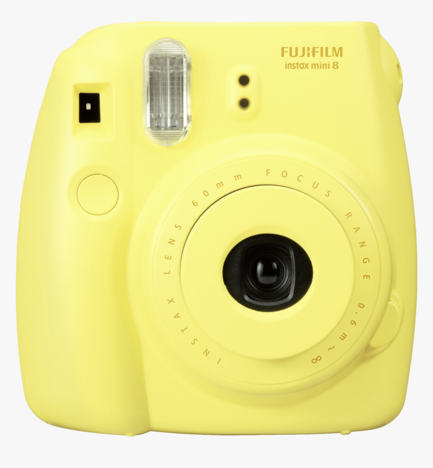 #polaroid #sticker #yellow #camera #cute #aesthetic - Instax Camera, HD Png Download, Free Download