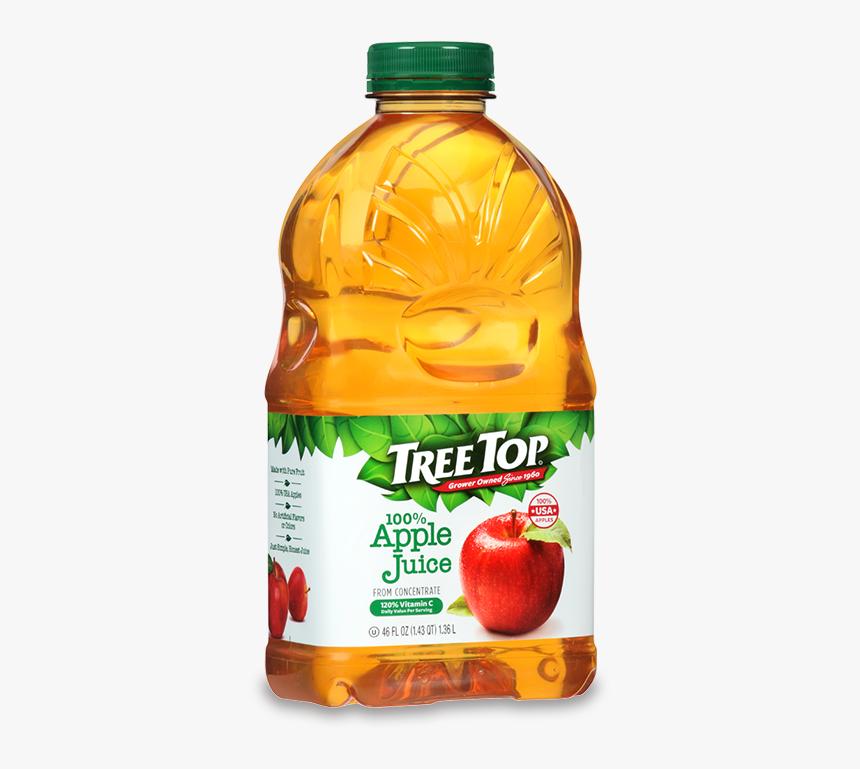 Tree Top Juice 46oz - Juice Apple 46 Oz, HD Png Download, Free Download