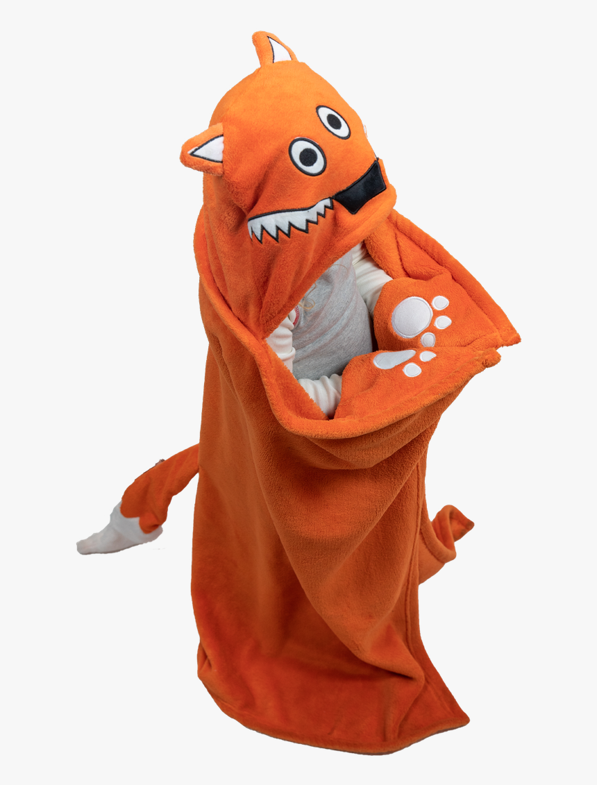 """Kid""""s Hooded Blanket - Mascot, HD Png Download, Free Download"""