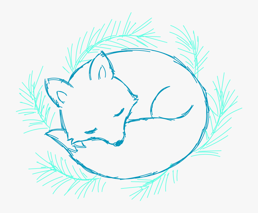 Sketch Fox Drawing Easy, HD Png Download, Free Download