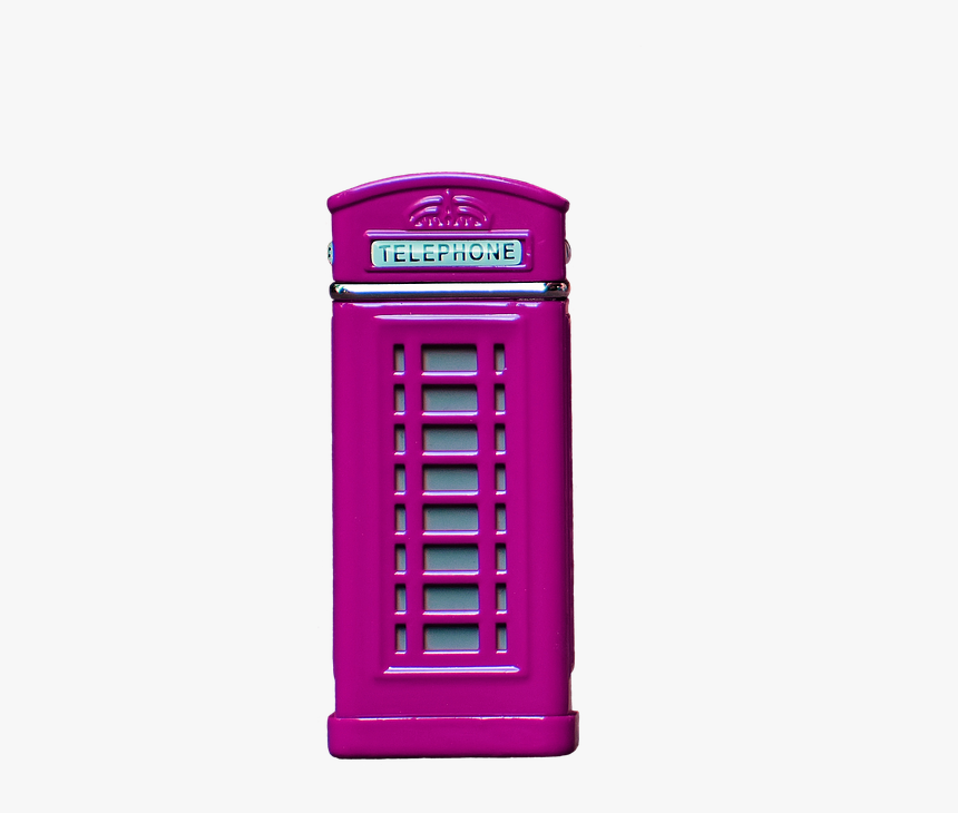 Animated Red Phone Booth, HD Png Download, Free Download