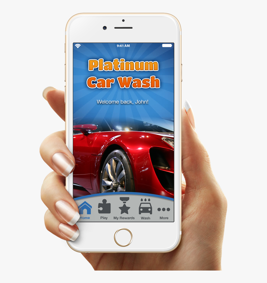 Car Wash Android App, HD Png Download, Free Download