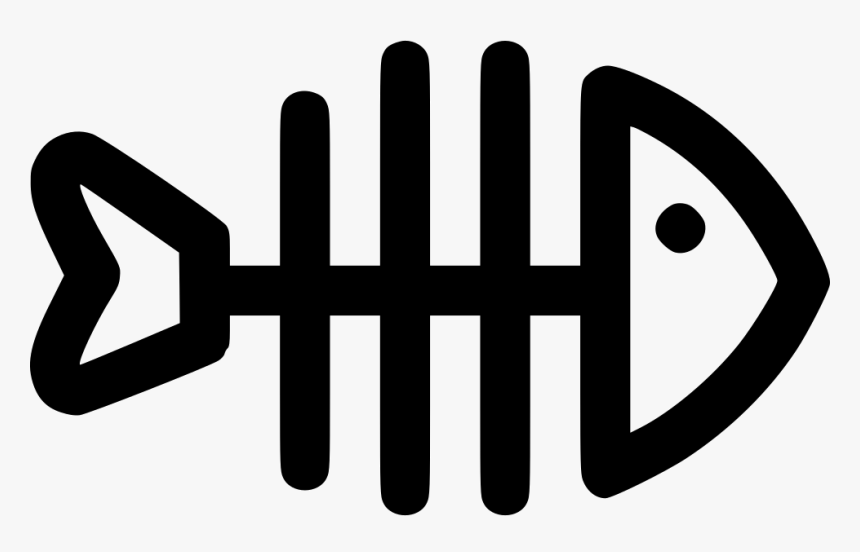 Transparent Fish Skeleton Png Logo Tulang Ikan Png Download Kindpng
