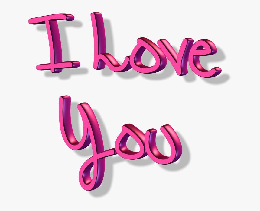 Download I Love You Transparent Png - Prabhas I Love You, Png Download, Free Download