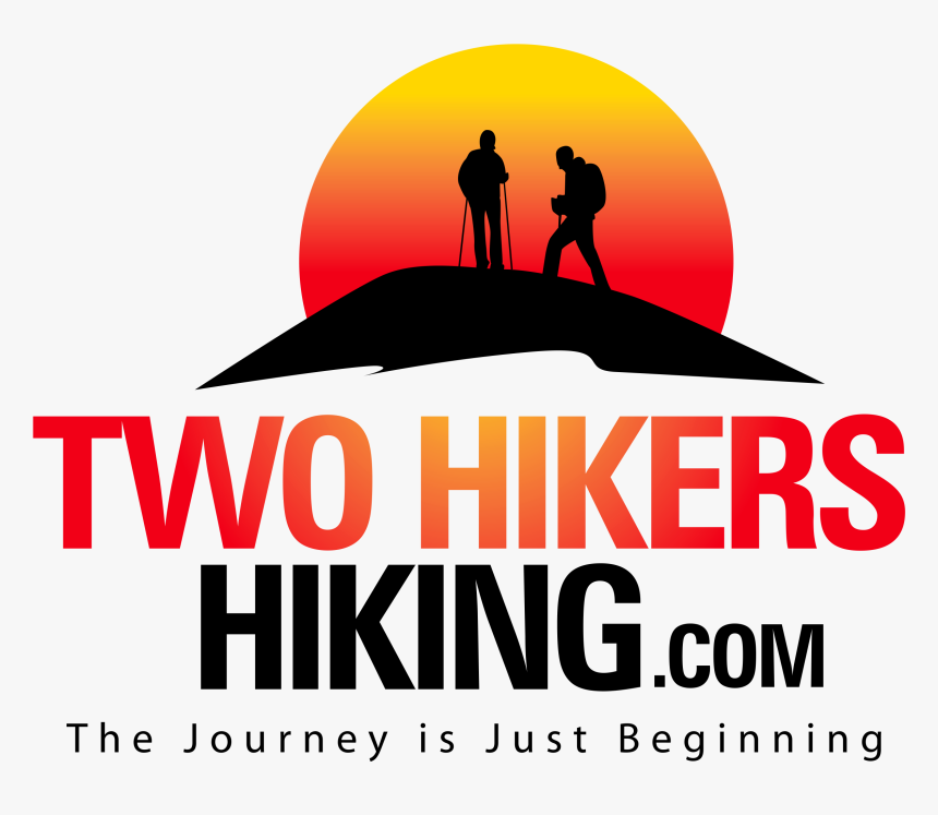 Two Hikers Hiking Logo Hikers Hd Png Download Kindpng