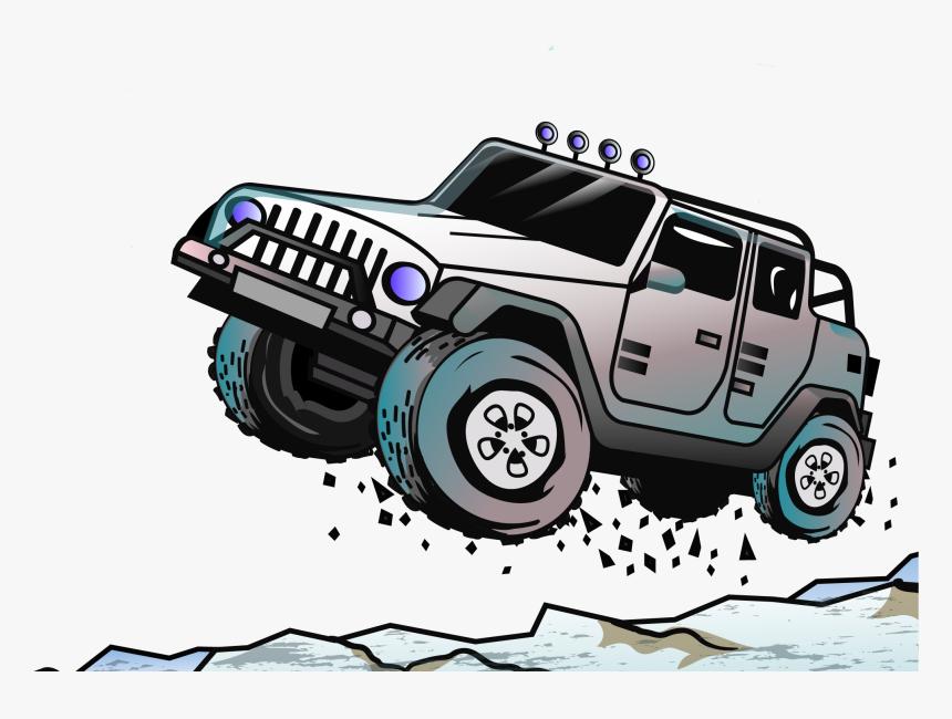 Jeep Car Euclidean Vector Off-road Vehicle - Off Road Vector Png, Transparent Png, Free Download