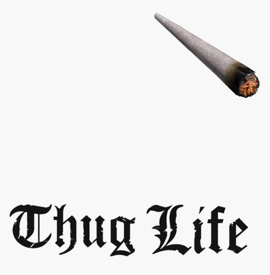 Thug Life Cigarette Png , Png Download - Thug Life Joint Transparent, Png Download, Free Download