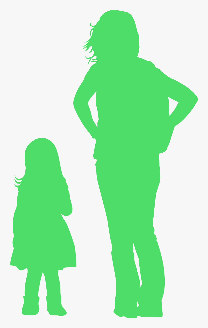 Child Silhouette Grey, HD Png Download, Free Download