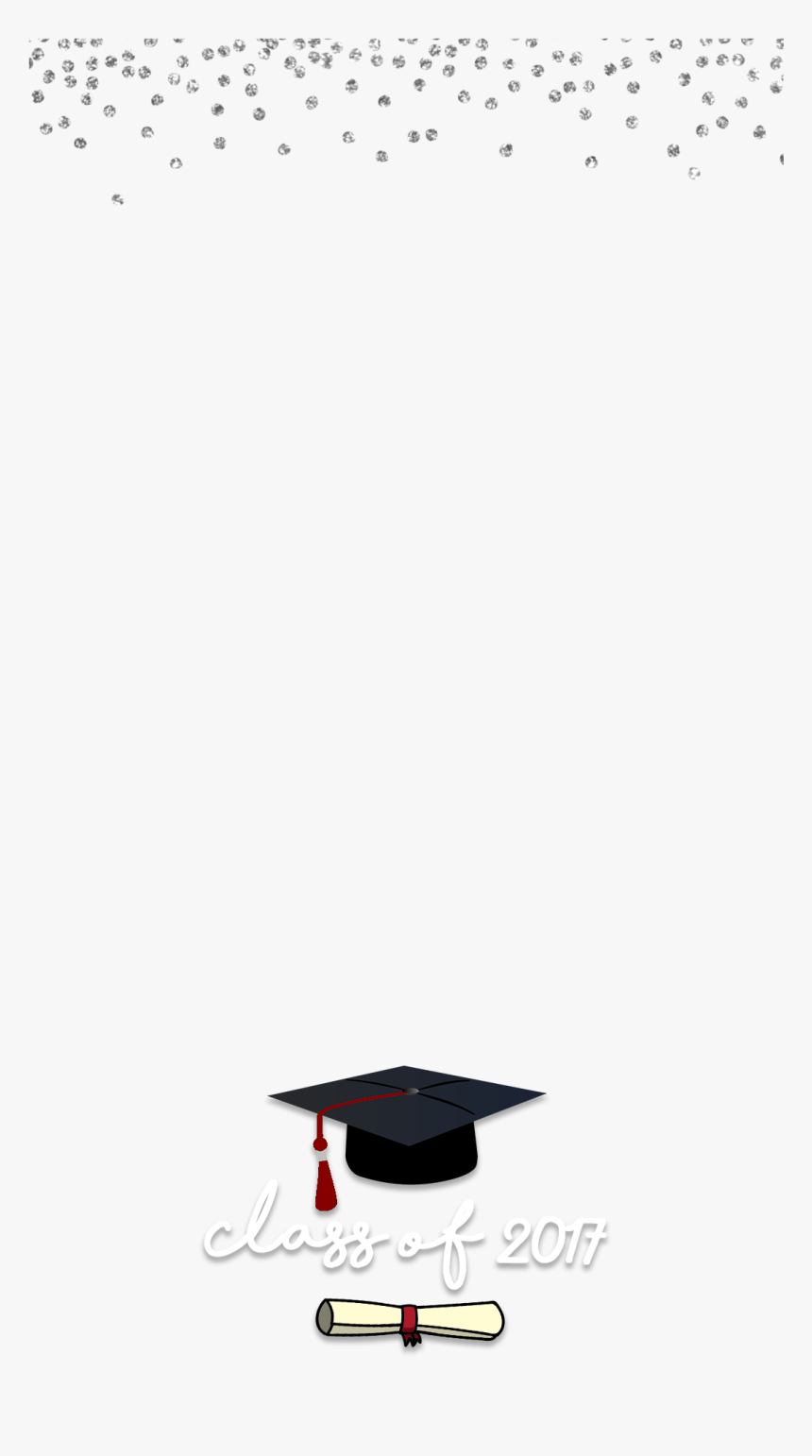 Snapchat Filters Clipart Black And White - Snapchat Graduation Filters 2018, HD Png Download, Free Download