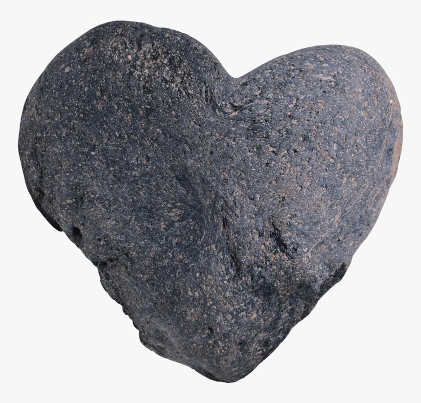 Heart Shape Rock Png, Transparent Png, Free Download