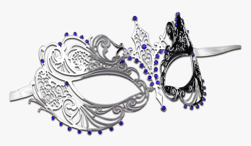Masquerade Transparent Png - Silver Masquerade Mask Png, Png Download, Free Download