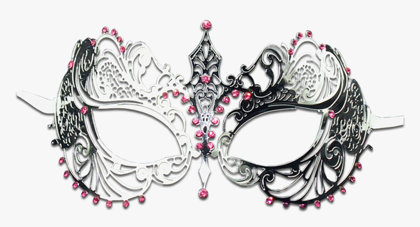 Transparent Silver Masquerade Mask Png - Silver Masquerade Mask Png, Png Download, Free Download