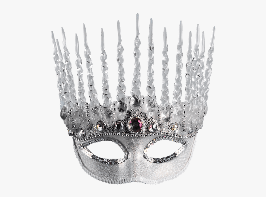 Transparent Silver Masquerade Mask, HD Png Download, Free Download