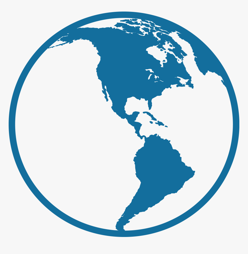 Transparent Central America Png - Central And South America Icon, Png Download, Free Download