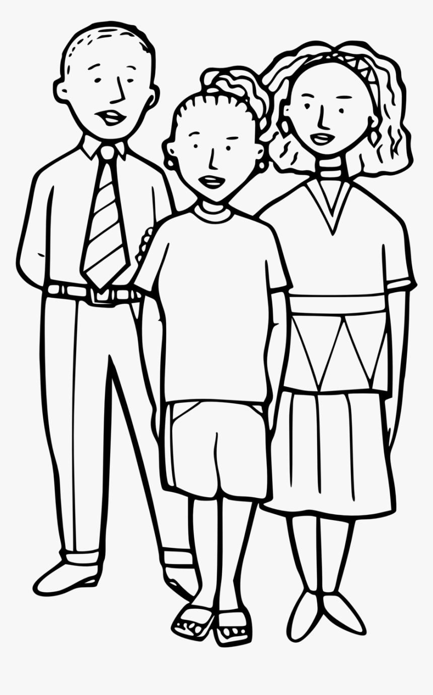 Transparent Group Of People Clipart Black And White - People Clipart Black And White, HD Png Download, Free Download
