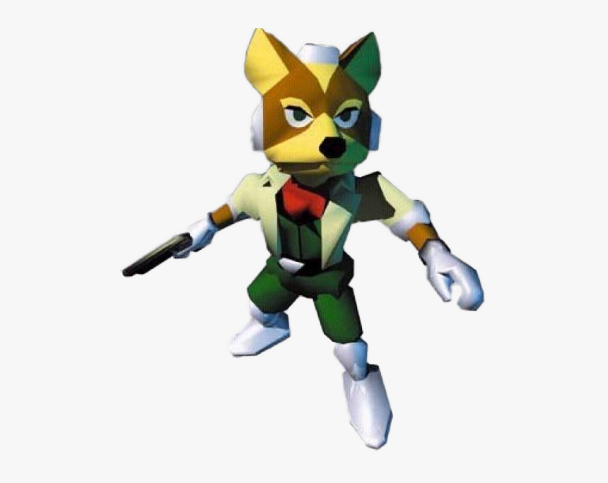 Transparent Arwing Png - Star Fox 64 Fox, Png Download, Free Download