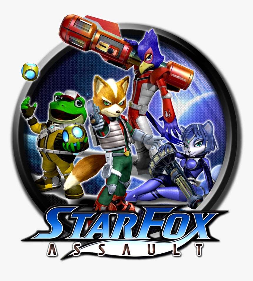 87d9xc - Star Fox Assault, HD Png Download, Free Download