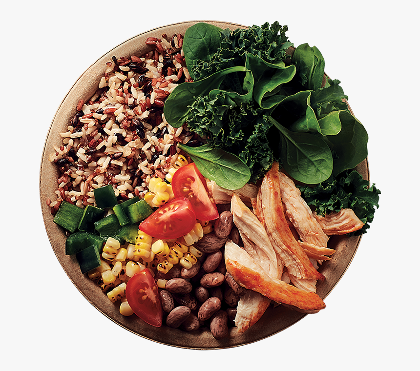 Healthy Food Png - Bowl Of Food Png, Transparent Png, Free Download