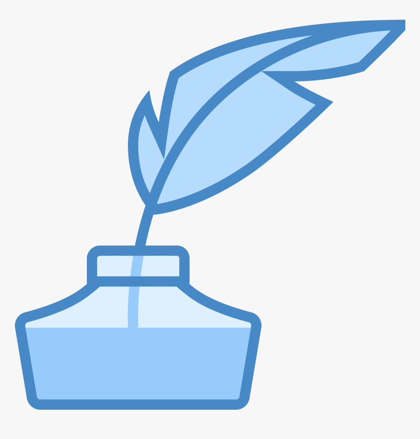 Quill With Ink Icon - Clip Art, HD Png Download, Free Download